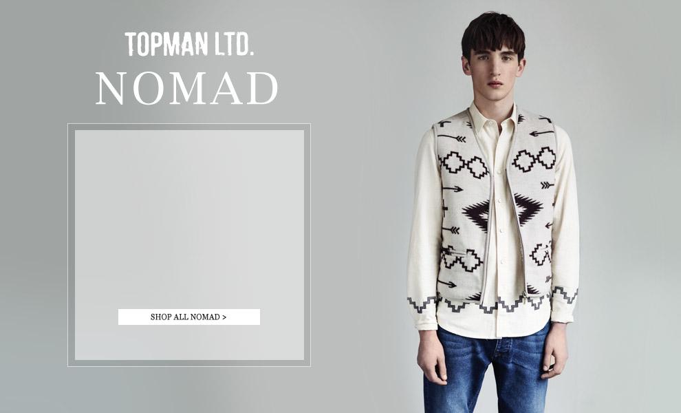Anatol Modzelewski is a Stylish 'Nomad' for Topman