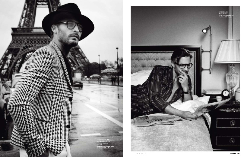 Ben Hill is a Writer in Paris for Elle Men China