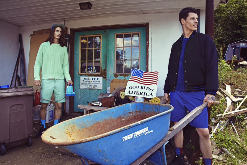 Christopher Wetmore, Richie Cotterell & Alexis Saint Denis for Highland Spring/Summer 2013
