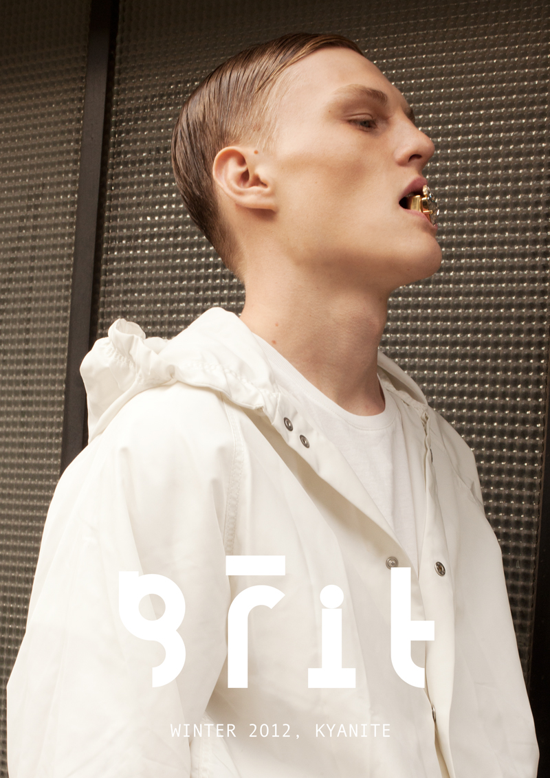 Buck Schlegel is a Vision in White for Grit's Winter 2012 Cover