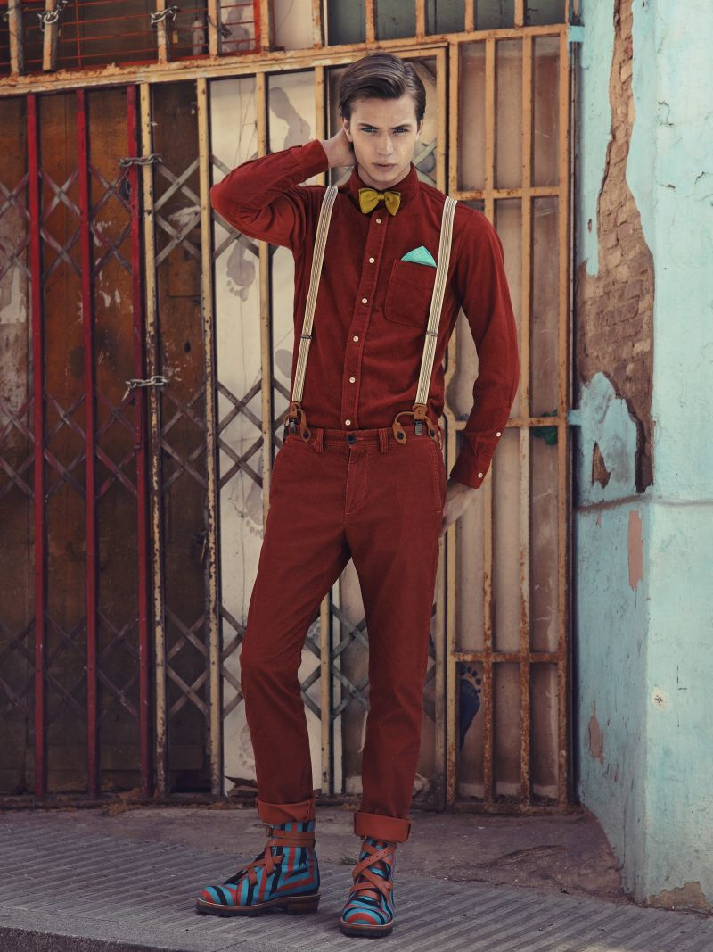 Linus Gustin in 'Aventura Lúdica' by Greg Swales for Fashionisto Exclusive
