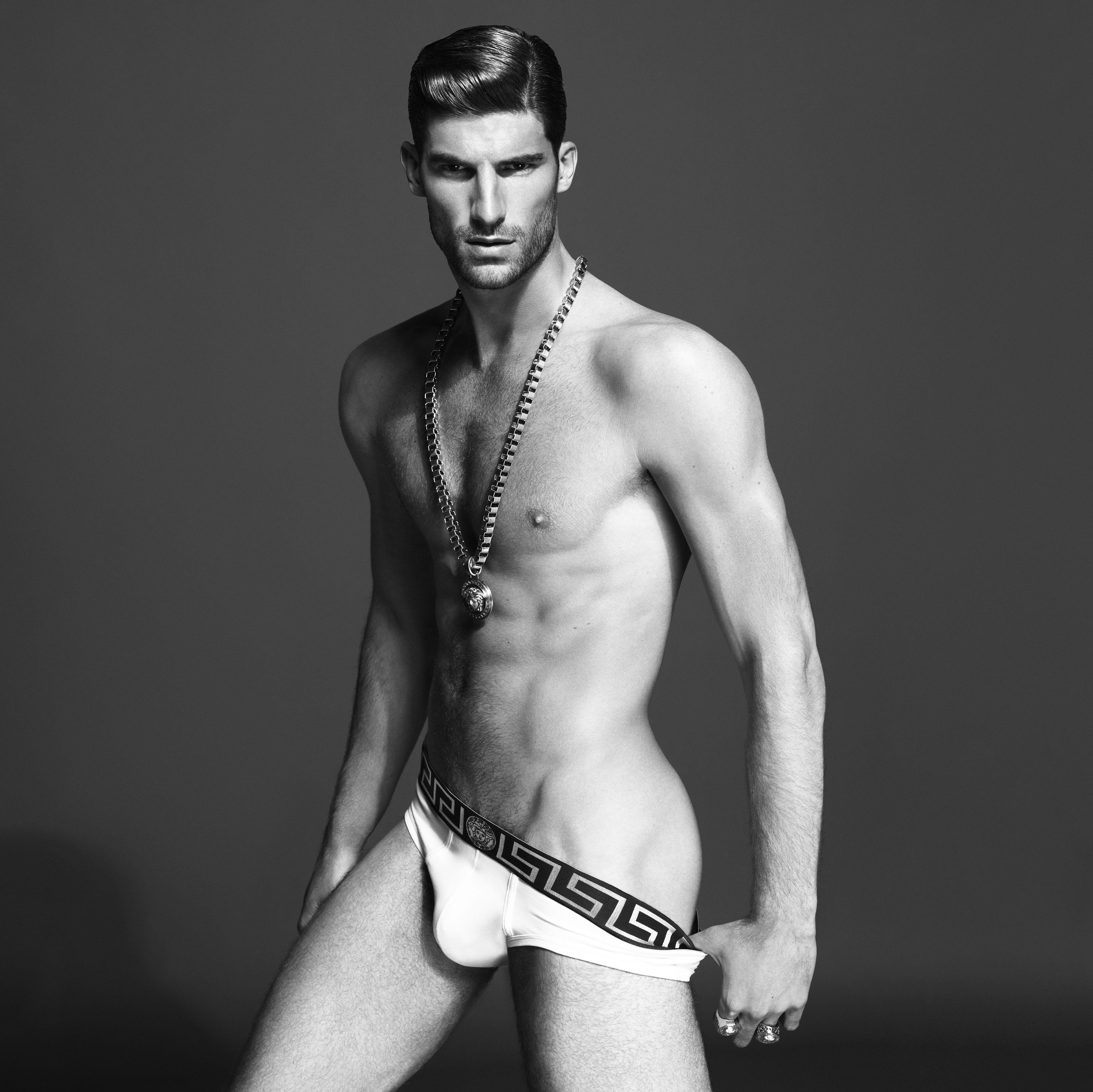 ryan barrett for versace underwear spring  summer 2013