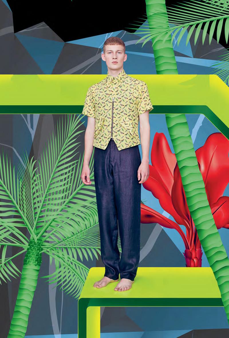 Bastian Thiery for Raphael Hauber Spring/Summer 2013