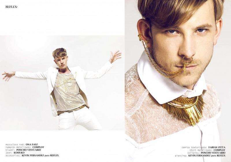 Alex Nestor & Germán Cover Reflex in Summer Hot Fashions