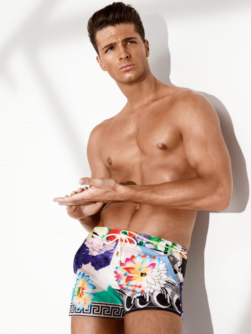 913501e562c Versace's Model Adonis: Sex, Glamour & Menswear | The Fashionisto