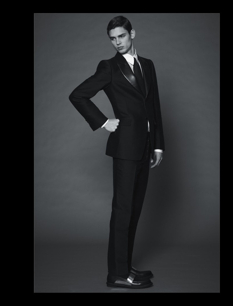 Arthur Gosse Dons Yves Saint Laurent's Precise Silhouettes for Doingbird #16