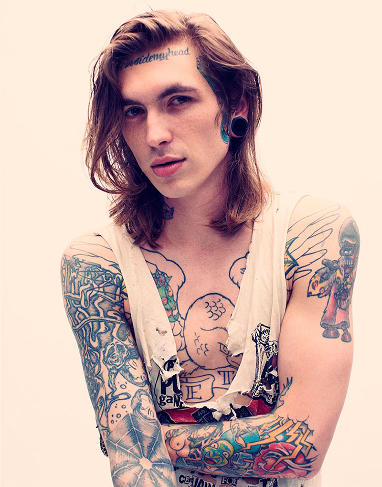 20+ Great Male Models with Tattoos