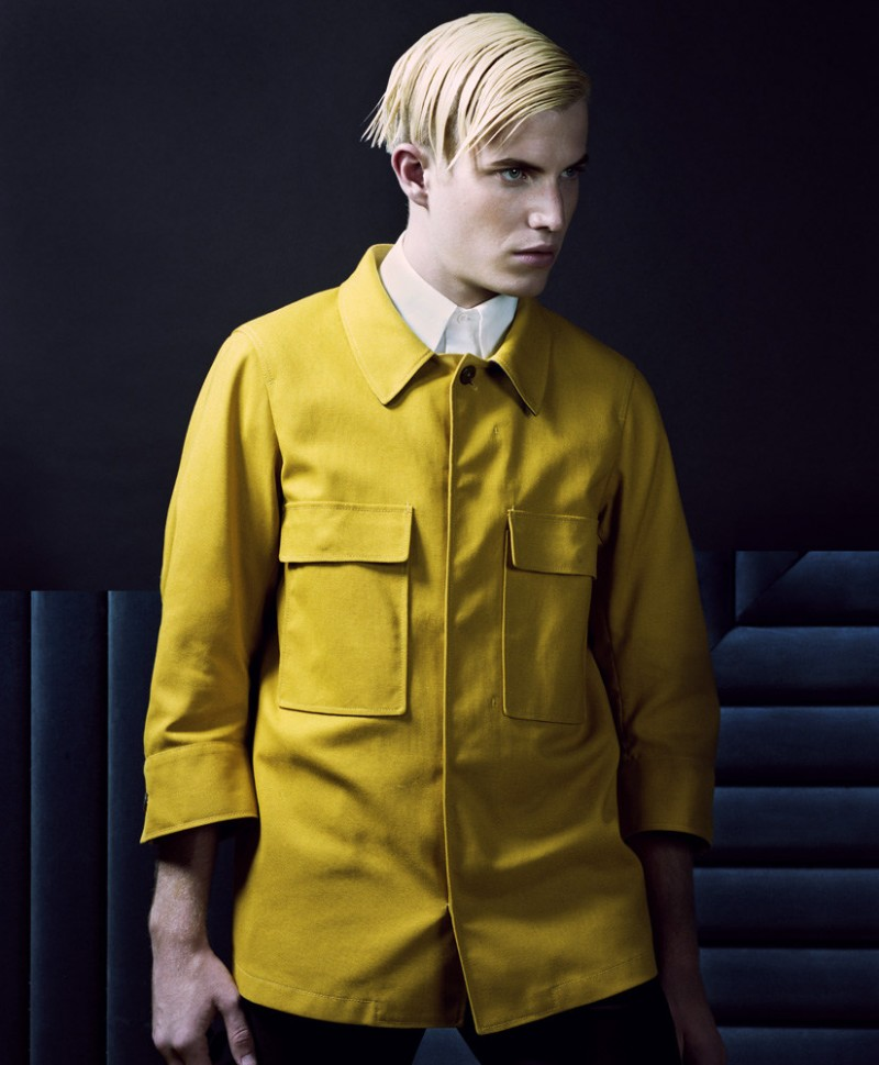 Conor McLain Dons Jil Sander Spring Looks for GQ Style Germany #22