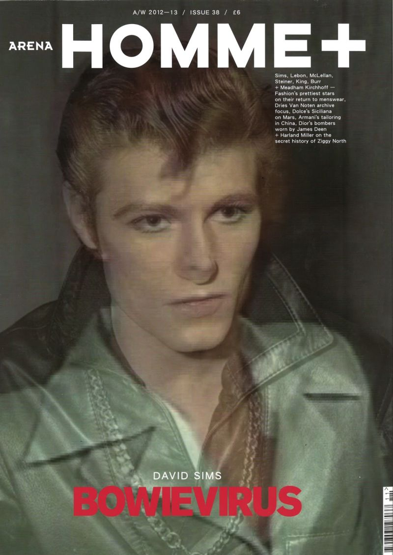 Duncan Pyke as David Bowie for Arena Homme+