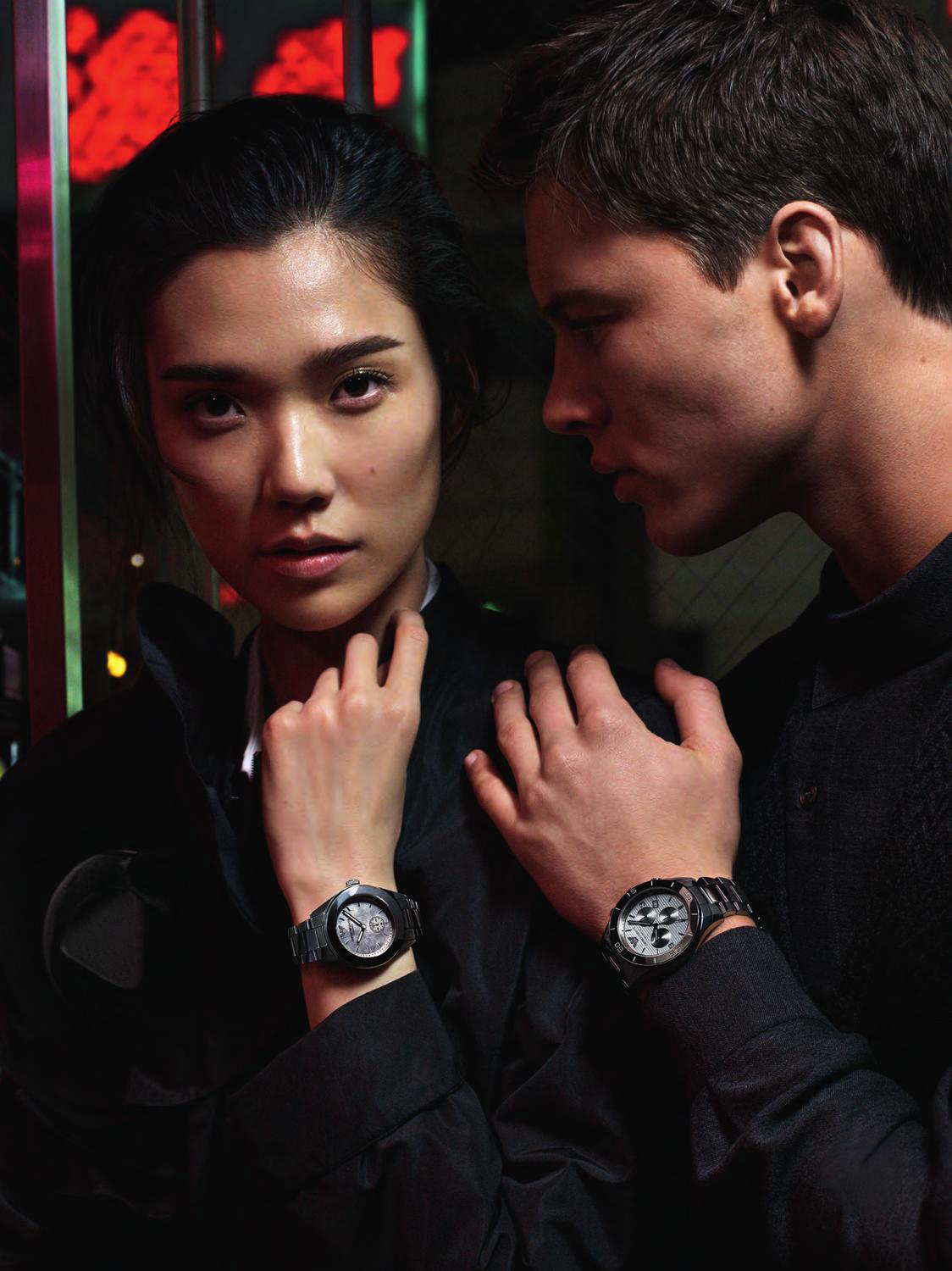 Alfred Kovac & Paolo Anchisi Don't Waste their Time for Emporio Armani Fall/Winter 2012 Watches Campaign