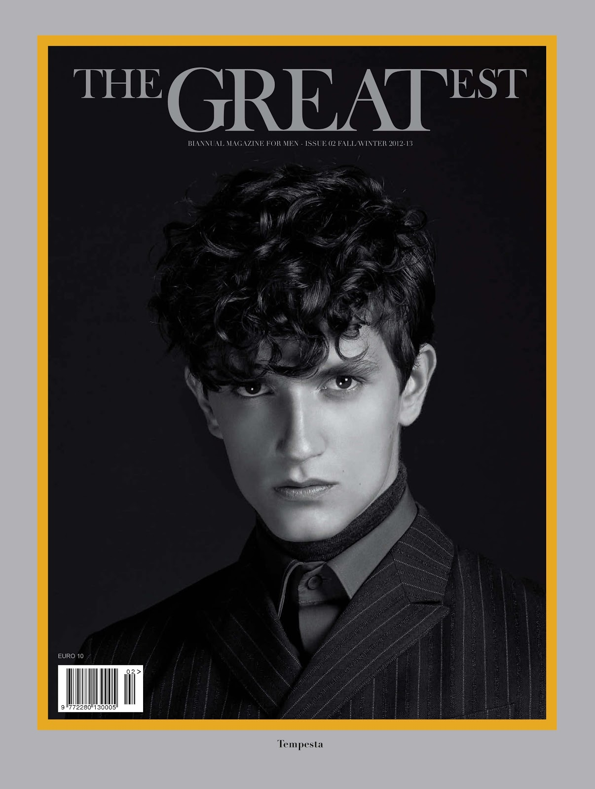 Jakob Wiechmann Strikes a Pose on the Cover of The Greatest #2