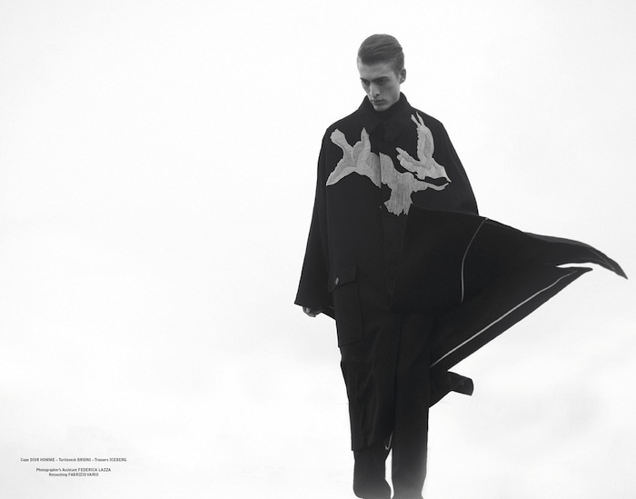 Stefania Paparelli Captures Winter Capes for The Greatest #2