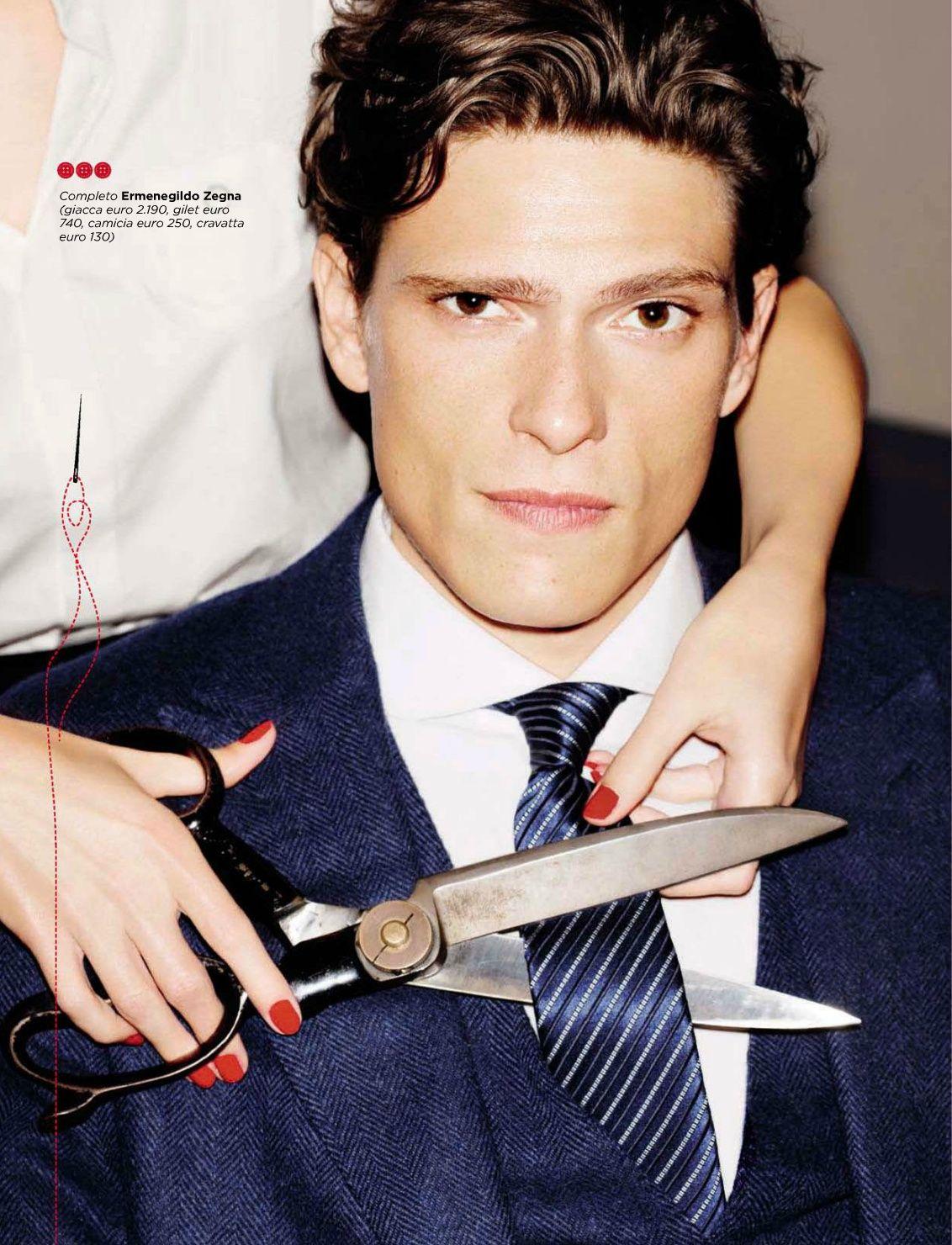 Matteo Martari Sports Tailored Suits for GQ Italia