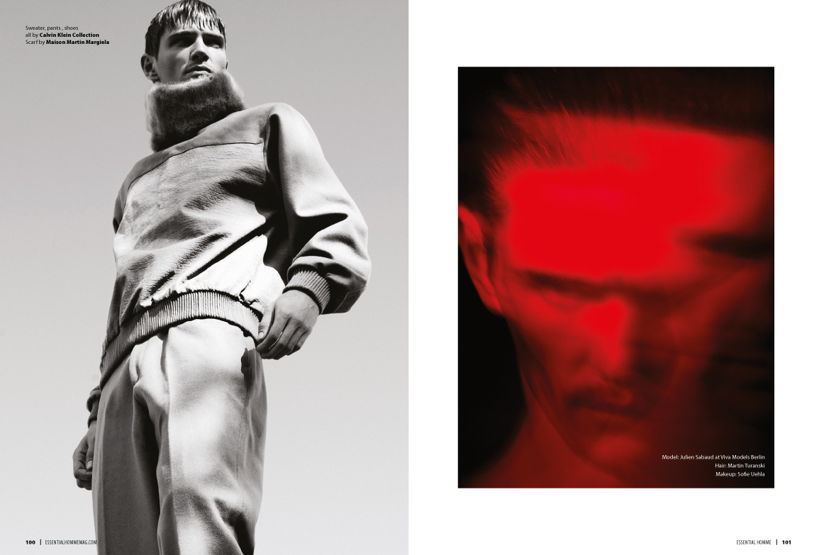 Julien Sabaud for Essential Homme