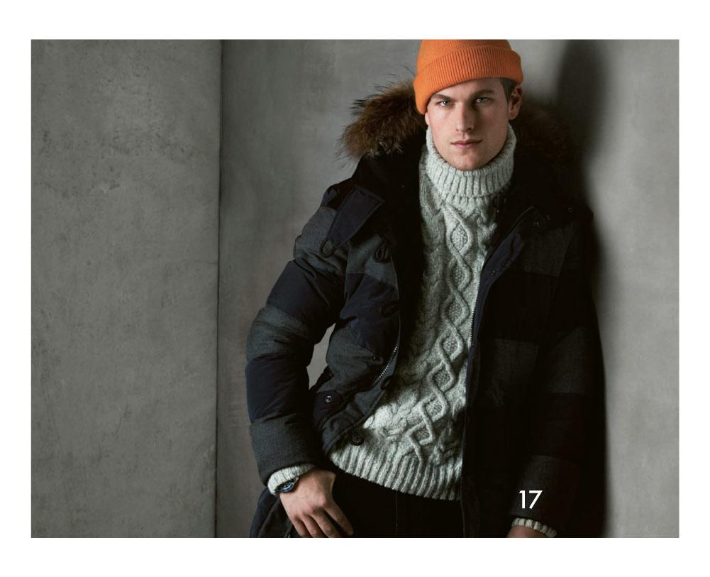 Jarrod Scott & Brittain Ward Star in Marina Yachting's Fall/Winter 2012 Lookbook