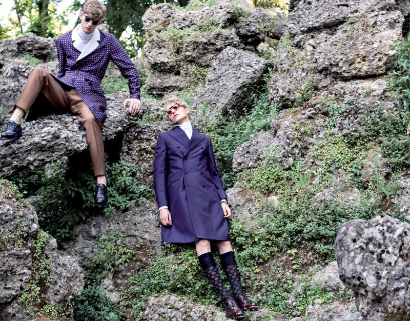 Gerhard Freidl & Matt King in Prada Fall/Winter 2012 for Fashionisto #5