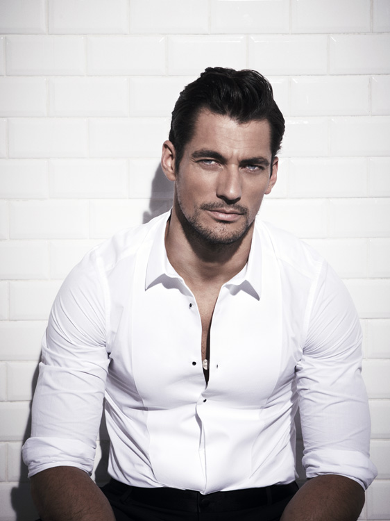 David Gandy Sports a Timeless Elegance for The Rake's Cover Shoot