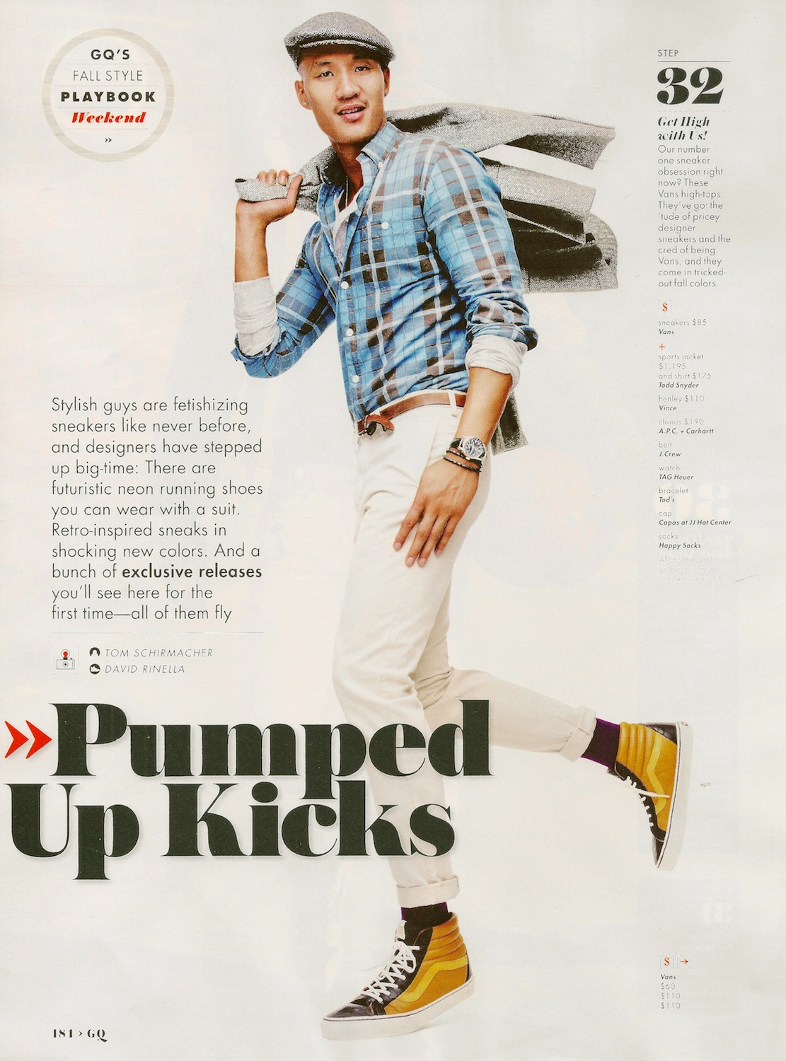 Paolo Roldan Has a Sneaker Obsession for GQ US