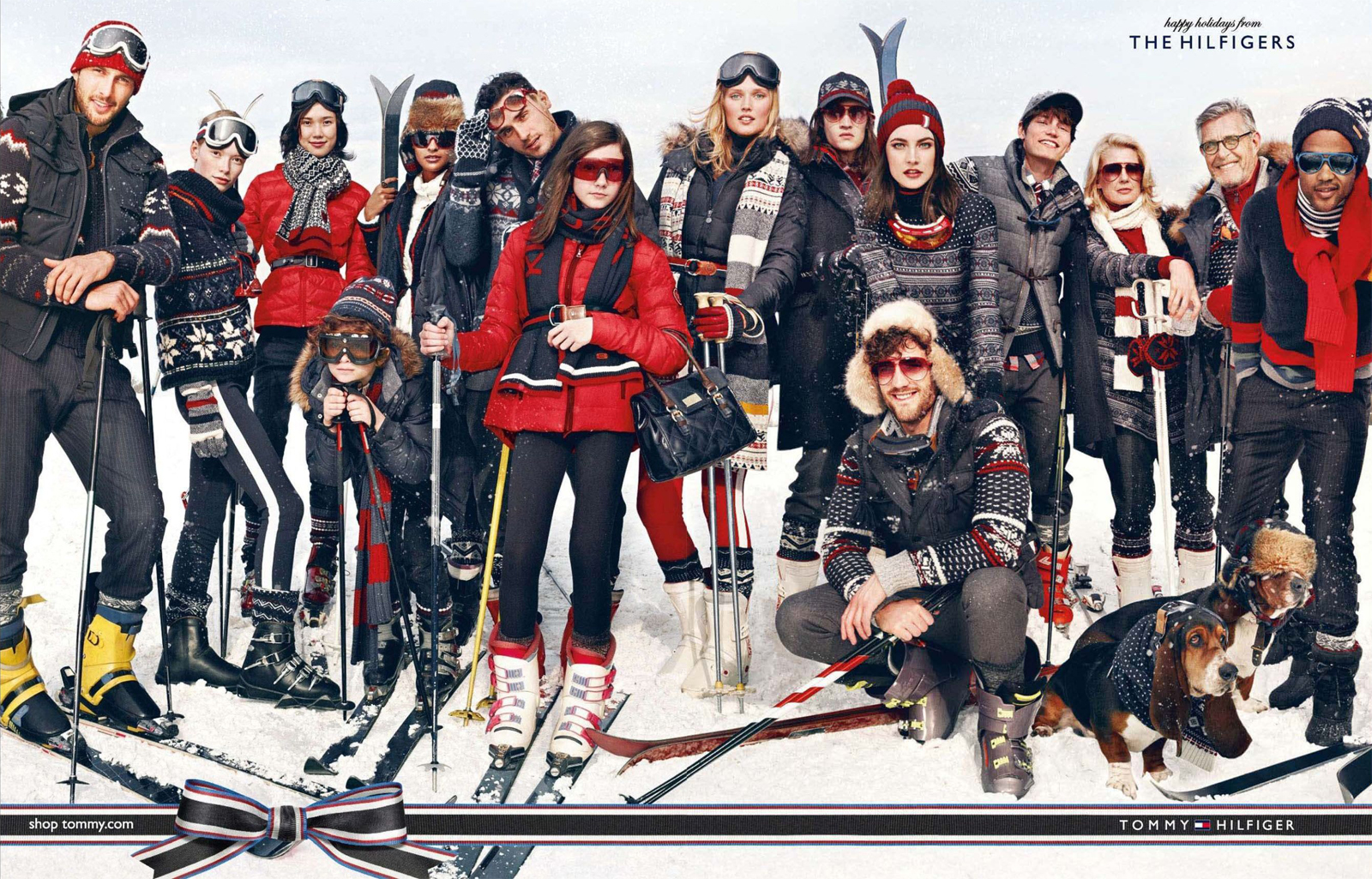Arthur Kulkov, Sam Way, Noah Mills & Others Spend Christmas on the Slopes for Tommy Hilfiger Holiday 2012 Campaign
