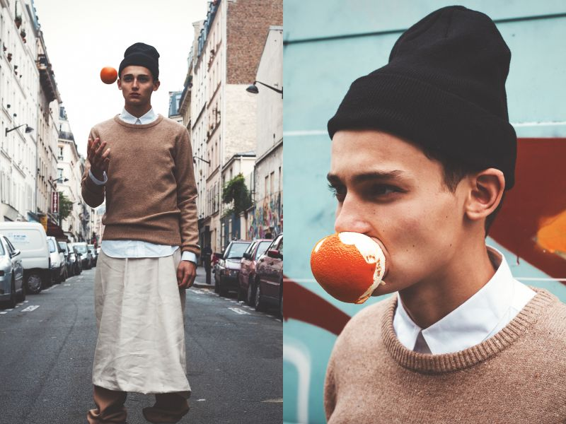 Ethan in 'We Shall Return, One Day' by Fabio Abecassis for Fashionisto Exclusive