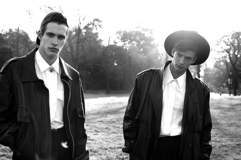 Gianluca Albonico & Romeo Caminos are 'Boys in Skirts' by Jiès Cléodore & Thibault Dlm