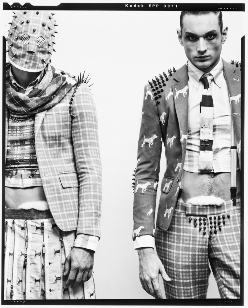 Aiden Andrews & Cameron Handley Get Out of Proportion for Husk Magazine