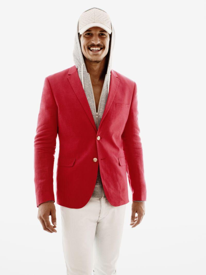 Jarrod Scott Models H&M's Spring/Summer 2013 Collection