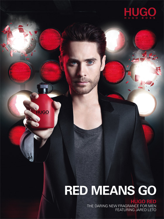 Jared Leto for HUGO Red Fragrance Campaign
