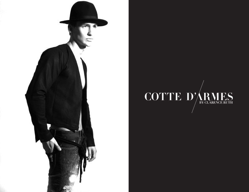Misha Lukianov for Cotte D'Armes by Clarence Ruth Spring/Summer 2013 Campaign