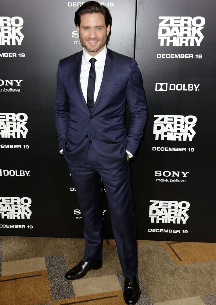 Edgar Ramirez Wears Dior Homme to 'Zero Dark Thirty' Premiere