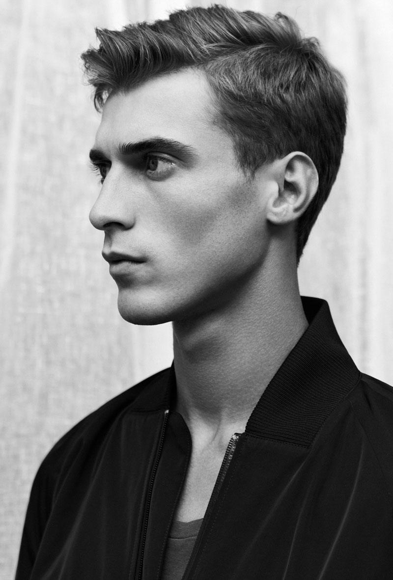 3dfc4179a50f Clément Chabernaud Models Clean Silhouettes for Filippa K Spring Summer  2013 Campaign