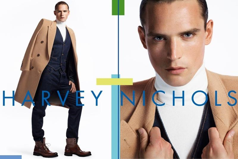 Guy Robinson is a Polished Gentleman for Harvey Nichols Fall/Winter 2012 Campaign