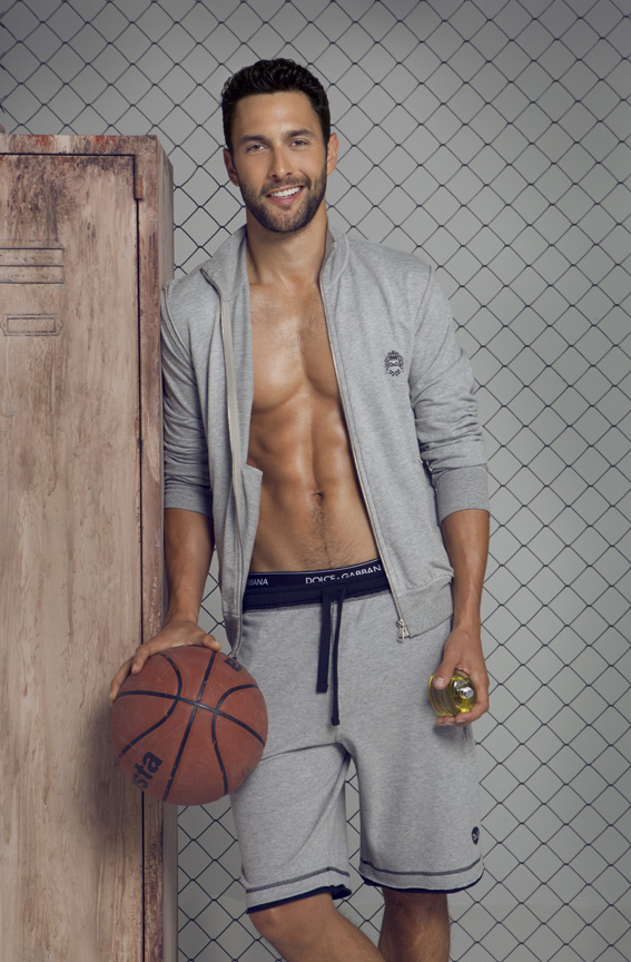 Noah Mills Dons Dolce & Gabbana's Gym Collection for Men's Health Spain Cover Shoot
