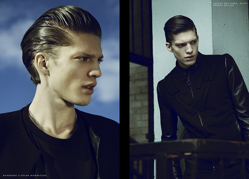 Jonatan Frenk in 'Soloist' by Brent Chua for Fashionisto Exclusive