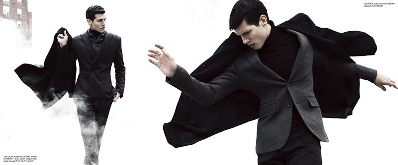 Adrian Cardoso & Jonas Schedin in 'The Big Chill' by Brent Chua for Fashionisto Exclusive