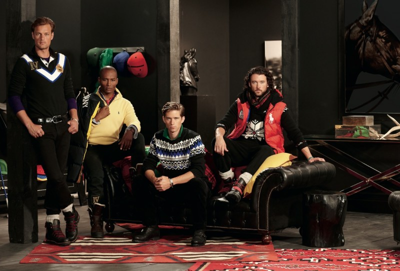 Arnaldo Anaya-Lucca Photographs Polo Ralph Lauren's Holiday 2012 Campaign