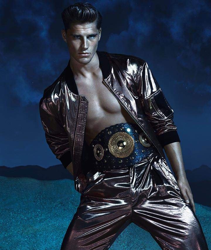 Veit Couturier, Edward Wilding & Kacey Carrig are Mythical Gladiators for Versace's Spring/Summer 2013 Campaign