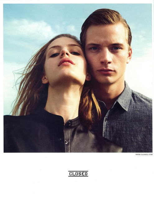 Linus Gustin Fronts the Closed Spring/Summer 2013 Campaign