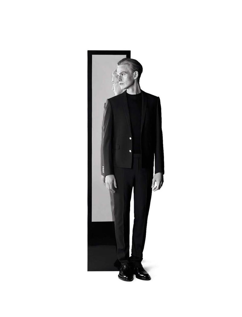 Karl Lagerfeld Shoots Gerhard Freidl for Dior Homme Spring/Summer 2013 Campaign