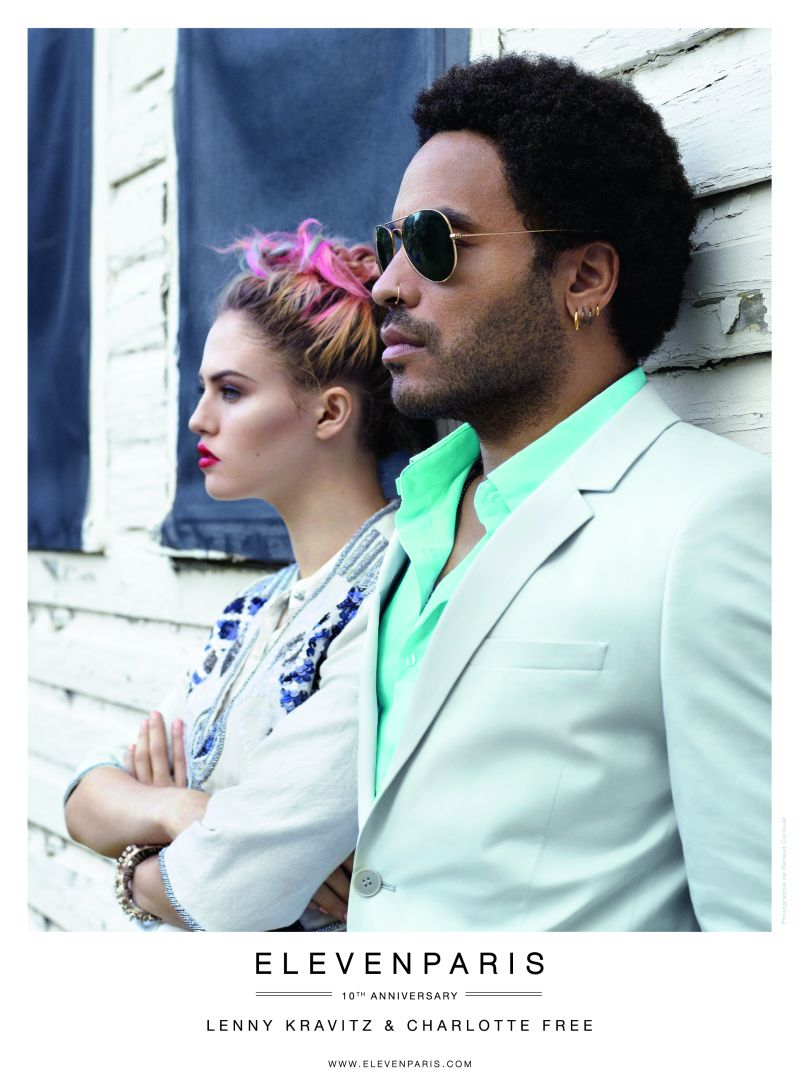 Lenny Kravitz for Eleven Paris Spring/Summer 2013 Campaign