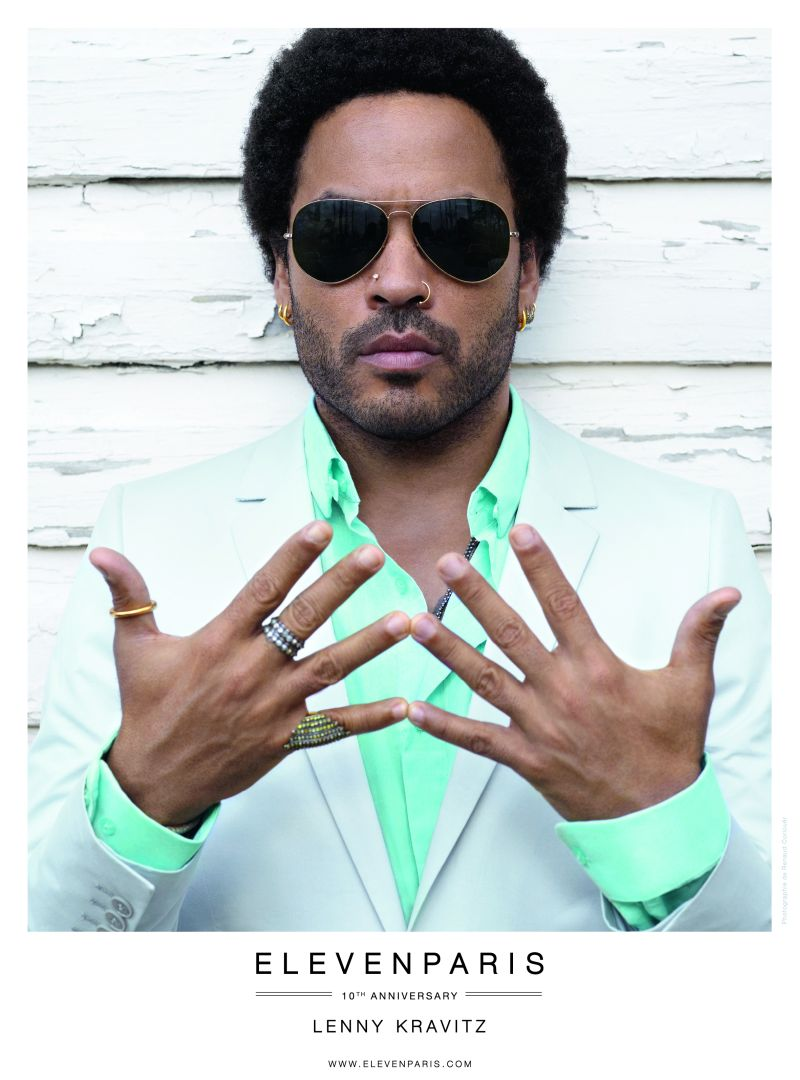 Lenny Kravitz for Eleven Paris Spring/Summer 2013 Campaign