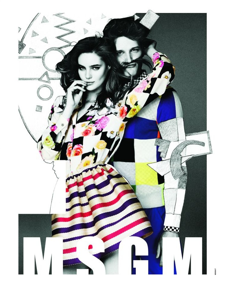 Florian Van Bael Stars in MSGM Spring/Summer 2013 Campaign