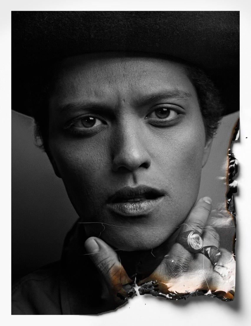 Bruno Mars Covers the Latest Issue of Flaunt