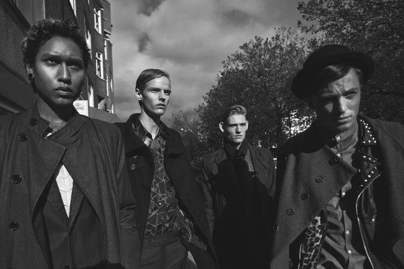 Bart Grein, Marijn Schotte, Gianni Bab & Rein Reitsma by Tim Verhallen for Fashionisto Exclusive