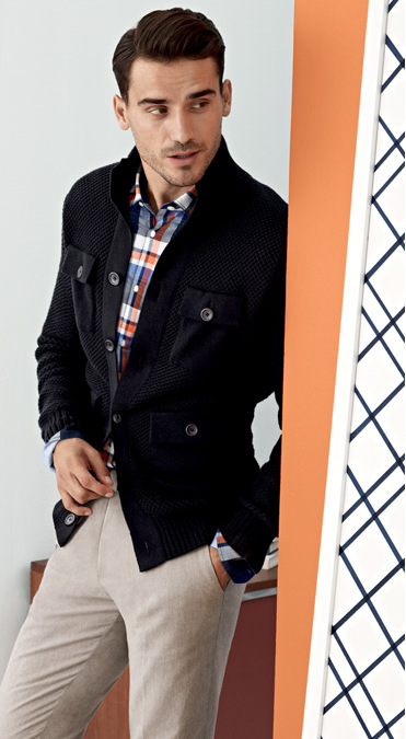 Arthur Kulkov is Ready for Spring for Banana Republic