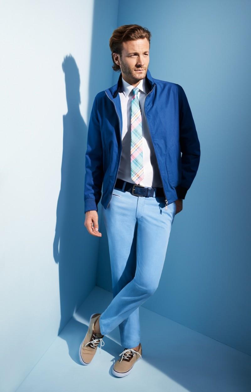 A Polished Brad Kroenig Graces Digel's Spring/Summer 2013 Lookbook