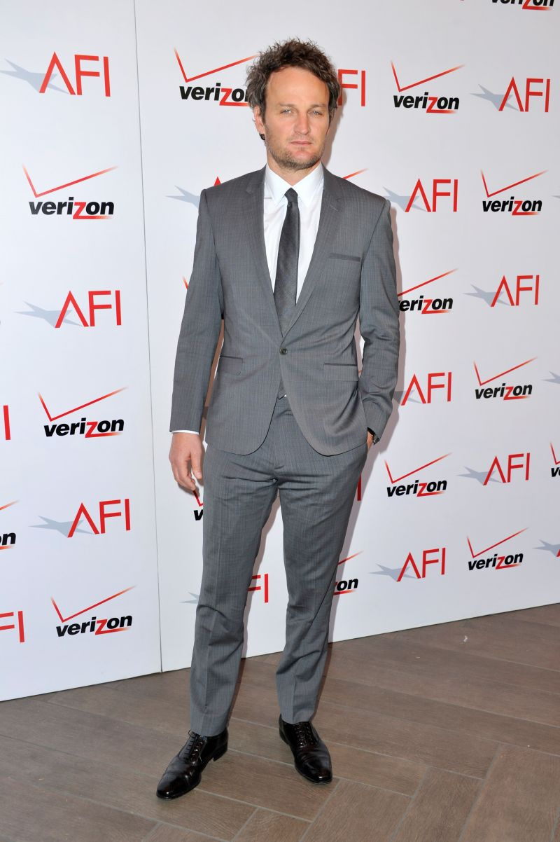 Jason Clarke Wears Calvin Klein Collection to the 13th Annual AFI Awards