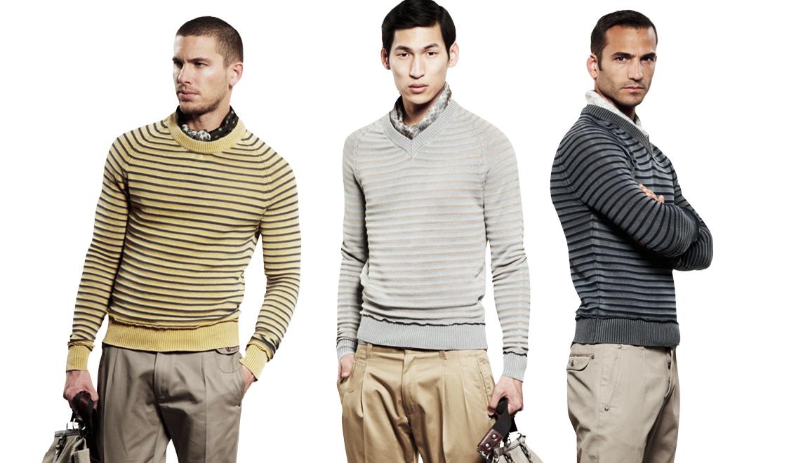 Adam Senn, Enrique Palacios & Crew Model Dolce & Gabbana's Spring/Summer 2013 Knitwear