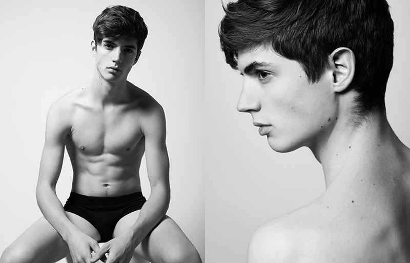 Olli Greb in 'Back in Business' by Dennis Weber for Fashionisto Exclusive