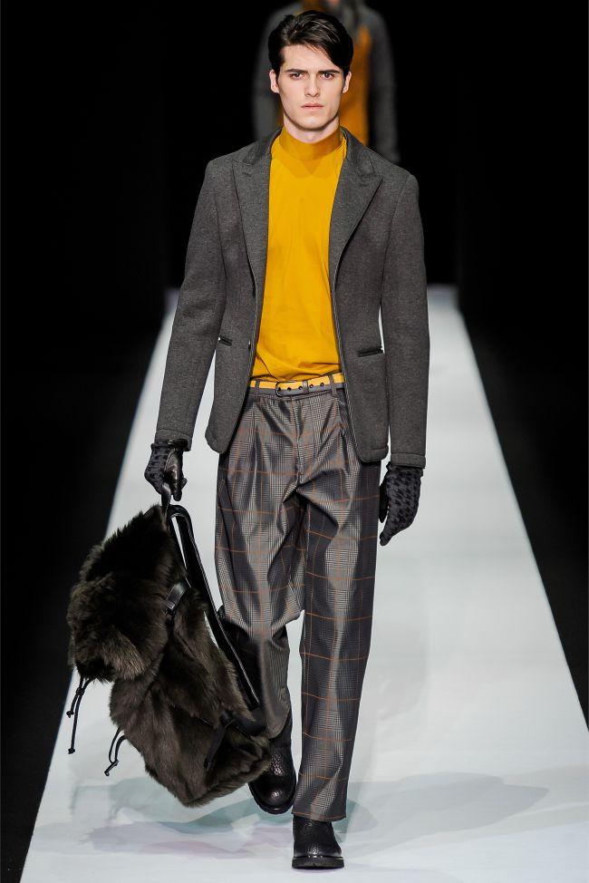 Emporio Armani Fall/Winter 2013 | Milan Fashion Week